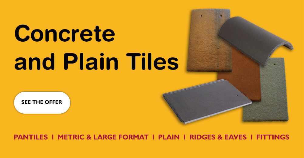 Concrete and Plain Tiles