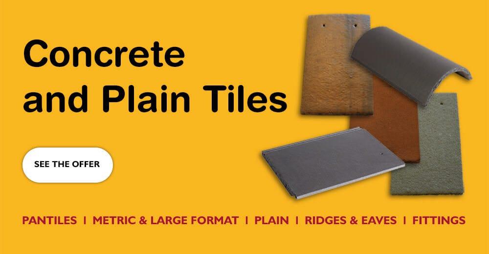 Concrete and Plain Tiles